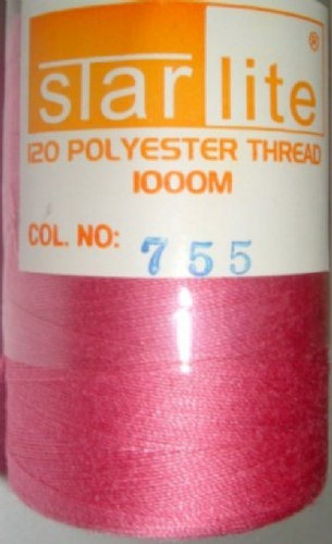 Polyester Sewing Machine Thread 1000 Metres Spools 755